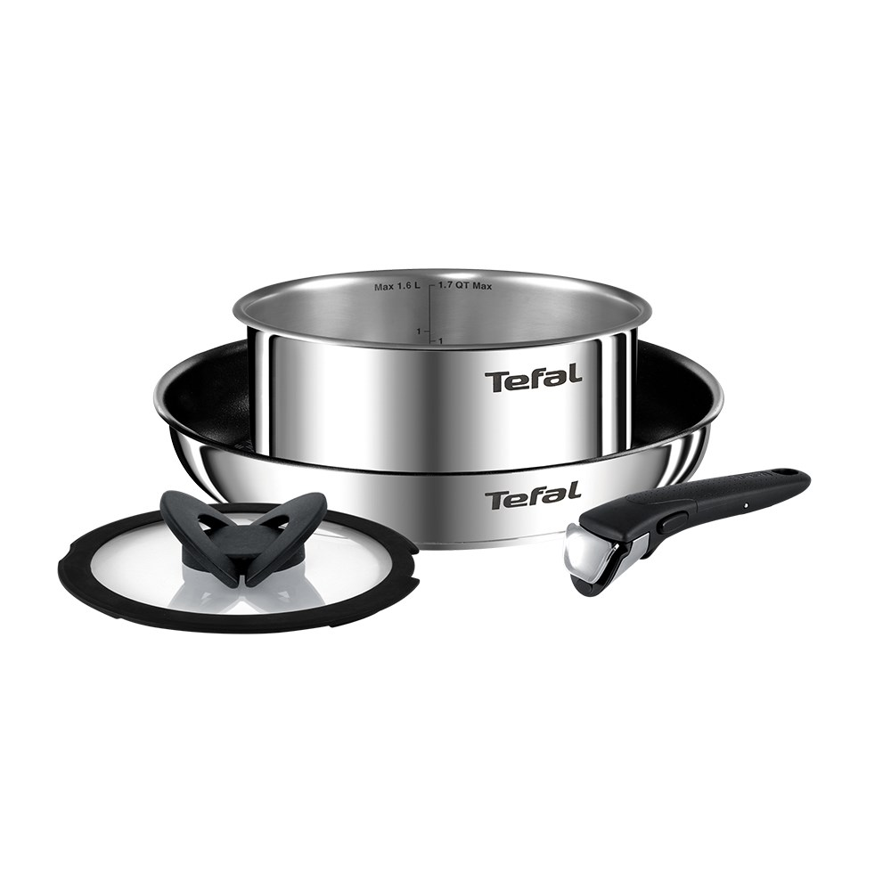 Tefal Ingenio Emotion 4 Piece Cookware Set