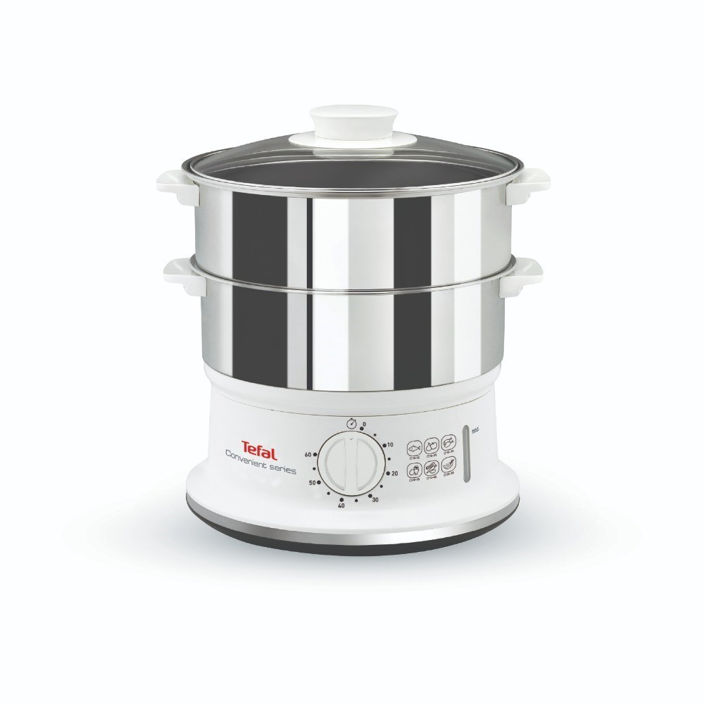 Tefal VC1451 Convenient Series Stainless Steel Steamer White