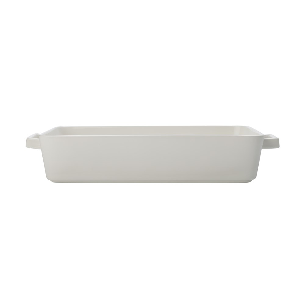 Maxwell & Williams Epicurious Rectangle Baker 32x22.5x7cm White Gift Boxed