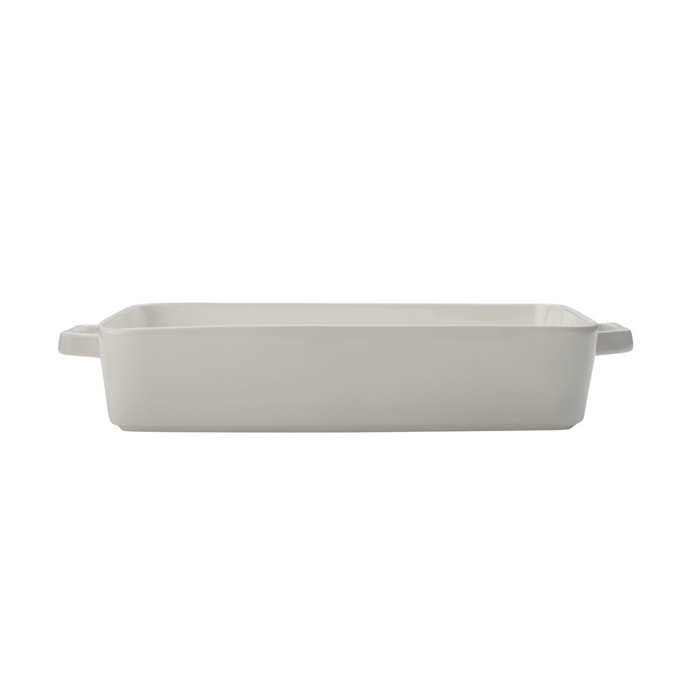 Maxwell & Williams Epicurious Lasagne Dish 36x24.5x7.5cm White Gift Boxed