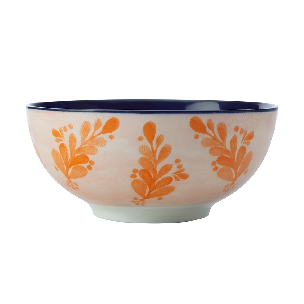 Maxwell & Williams Majolica Porcelain Bowl 16cm Ink Blue