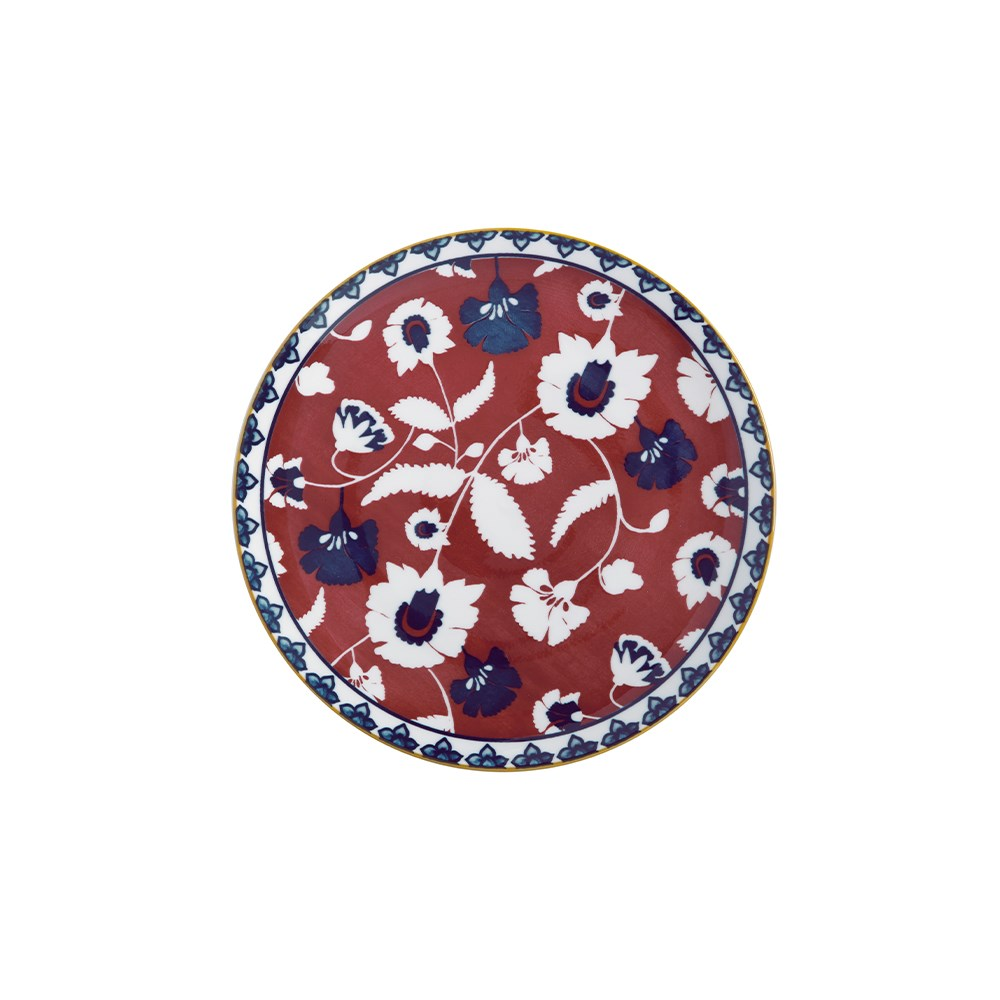 Maxwell & Williams Rhapsody Porcelain Side Plate 20cm Red