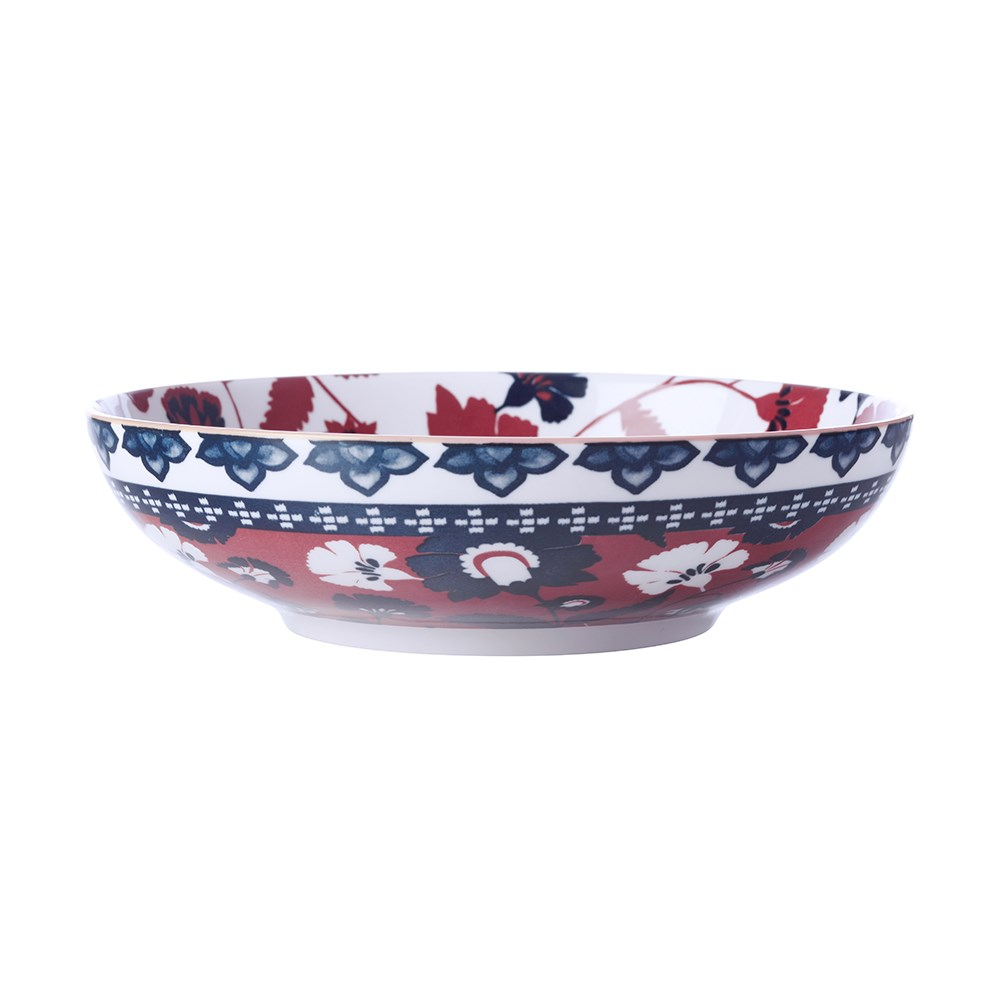 Maxwell & Williams Rhapsody Porcelain Coupe Bowl 20cm Red