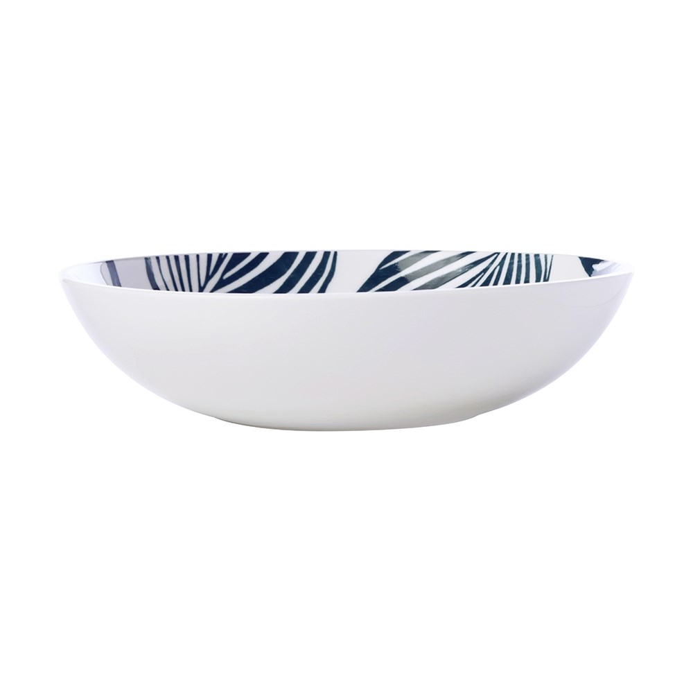 Maxwell & Williams Panama Coupe Bowl 20cm White & Grey