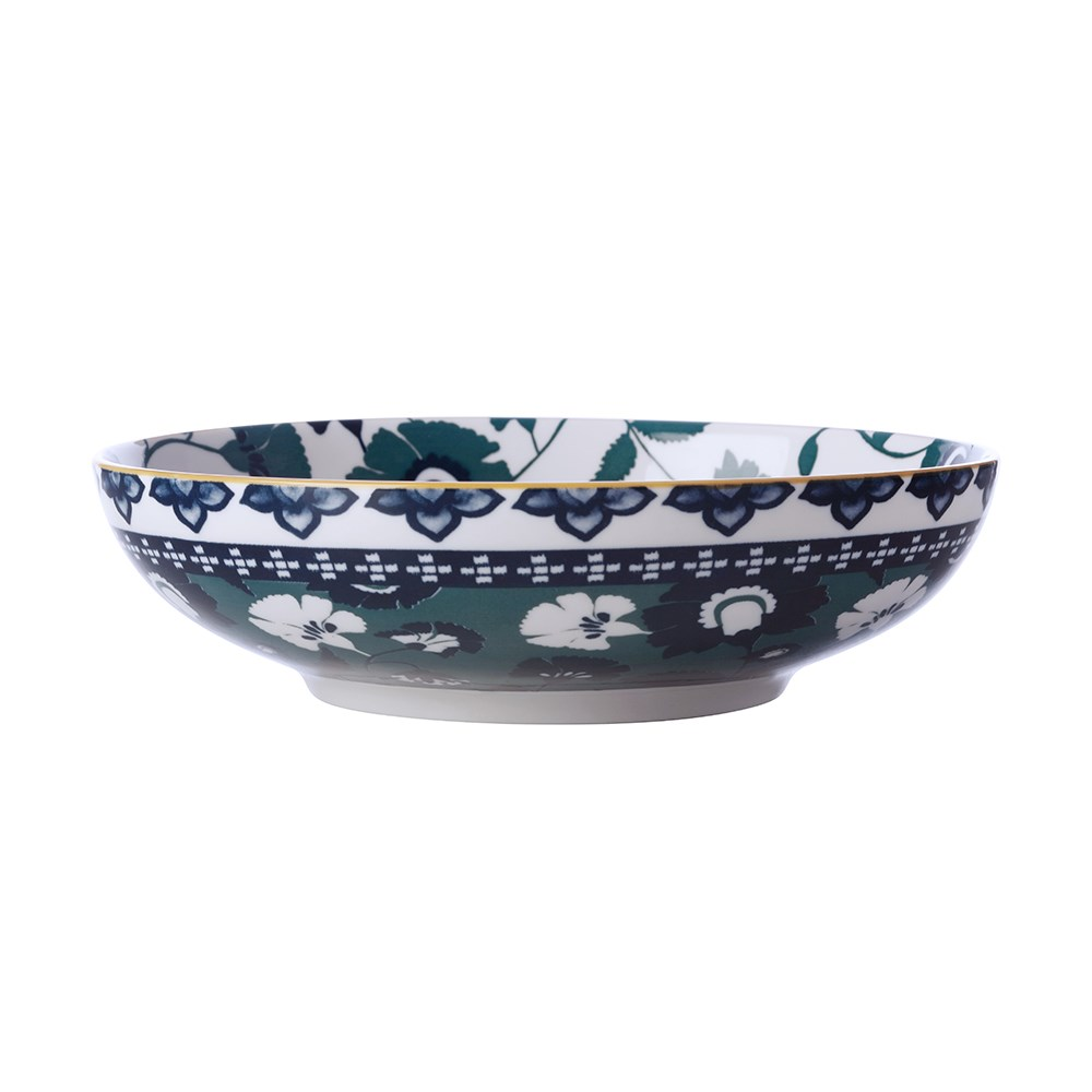 Maxwell & Williams Rhapsody Porcelain Coupe Bowl 20cm Green