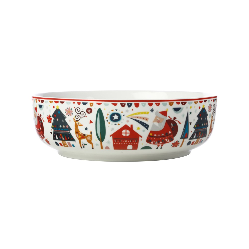 Maxwell & Williams Festive Friends Round Bowl 25cm