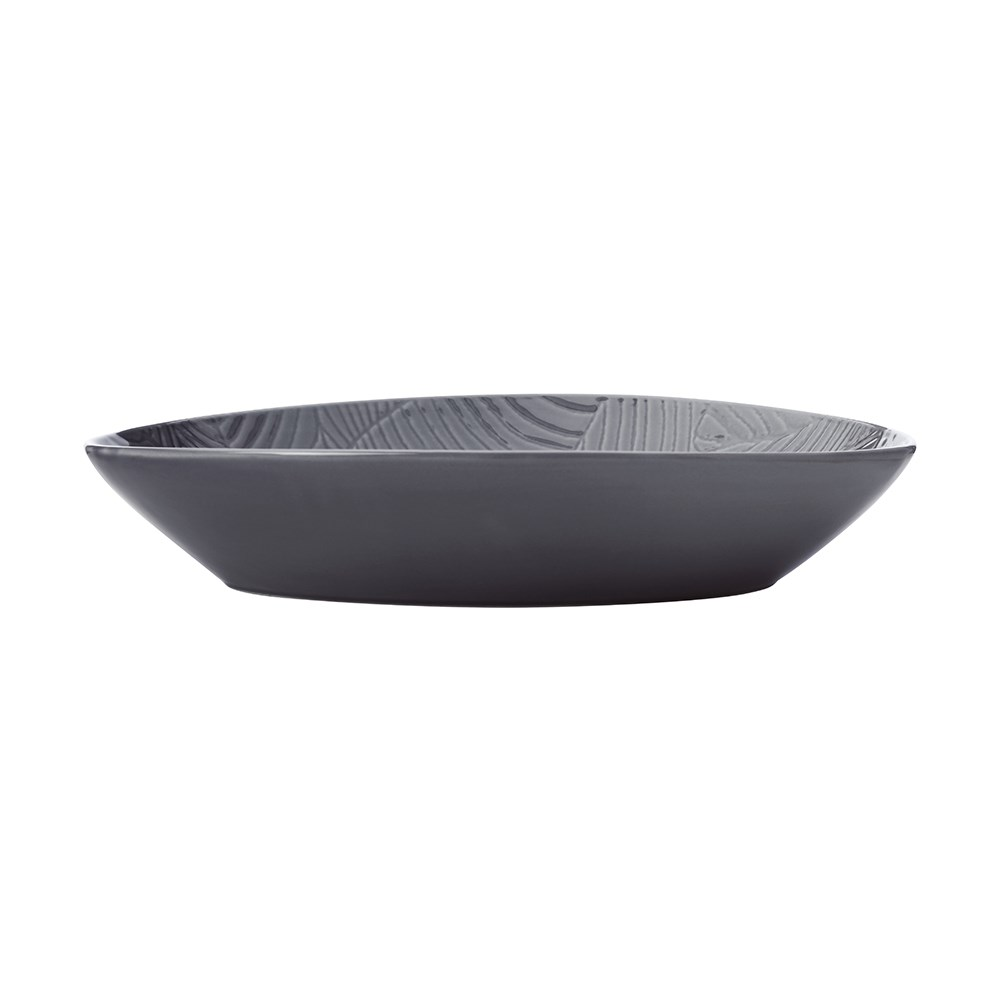 Maxwell & Williams Panama Oval Serving Bowl 32cm Gift Boxed Grey