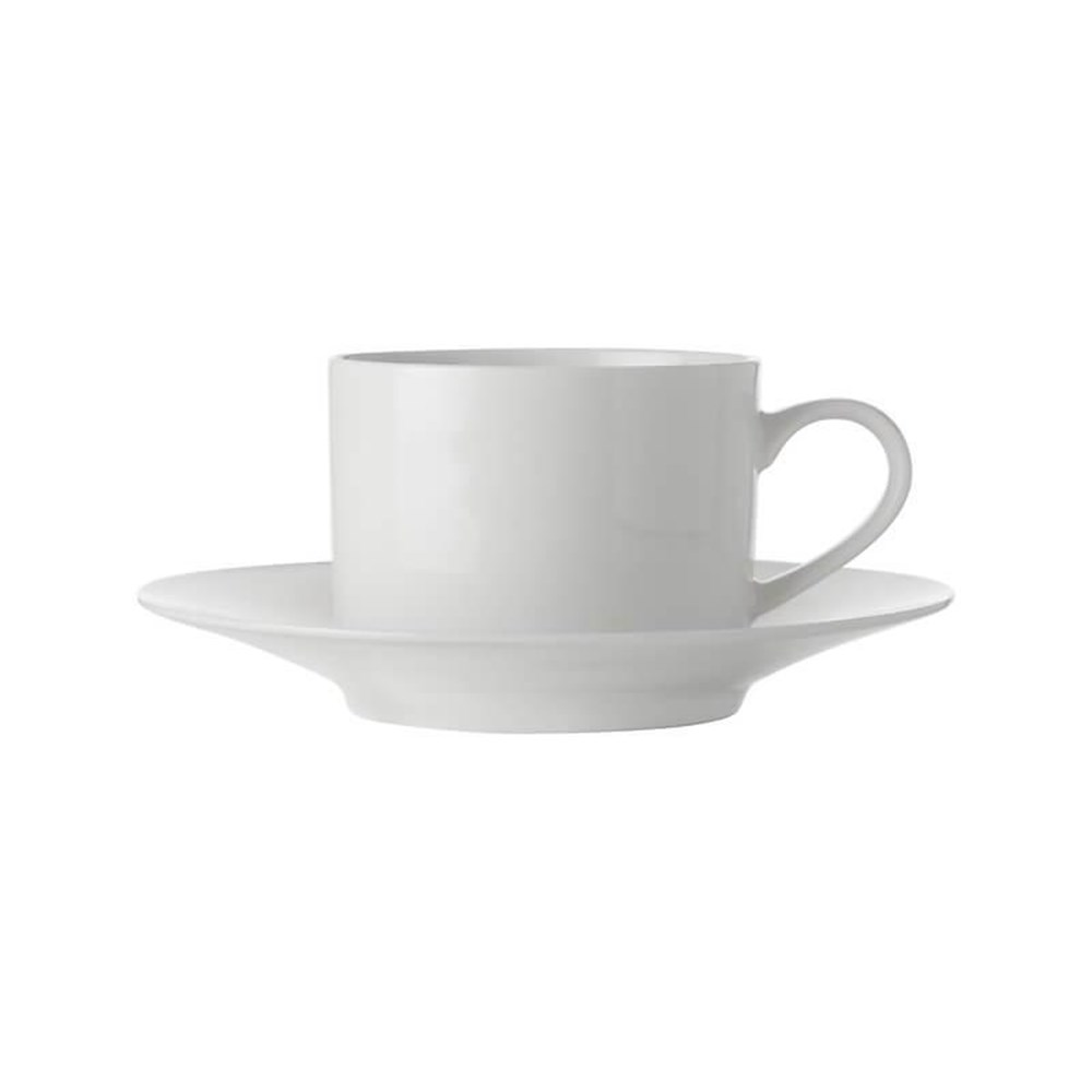 Maxwell & Williams White Basics Straight Cup & Saucer 250ml