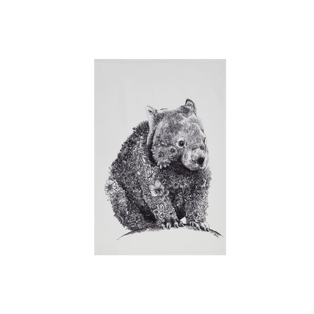 Maxwell & Williams Marini Ferlazzo Tea Towel 50x70cm Wombat