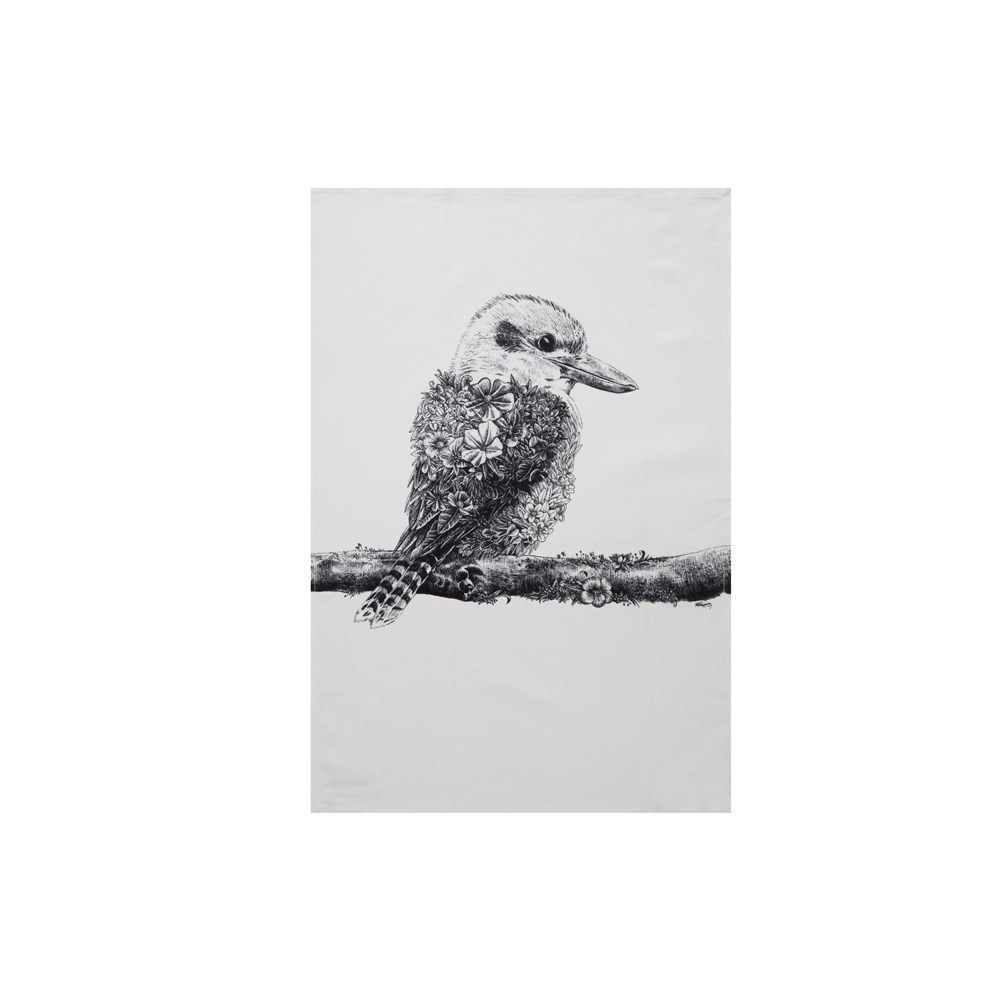 Maxwell & Williams Marini Ferlazzo Tea Towel 50x70cm Kookaburra