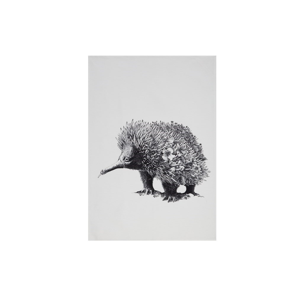 Maxwell & Williams Marini Ferlazzo Tea Towel 50x70cm Echidna