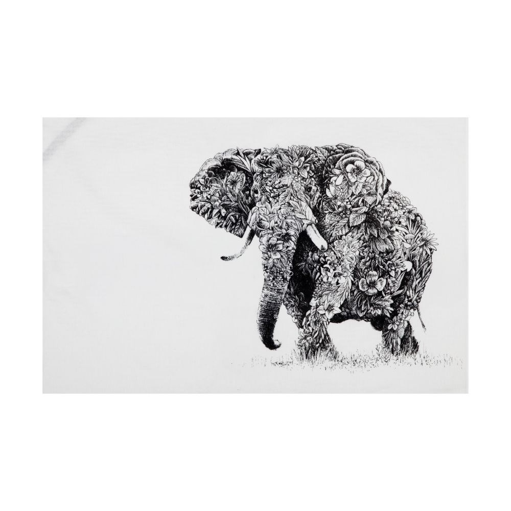 Maxwell & Williams Marini Ferlazzo African Elephant Tea Towel 50 x 70cm