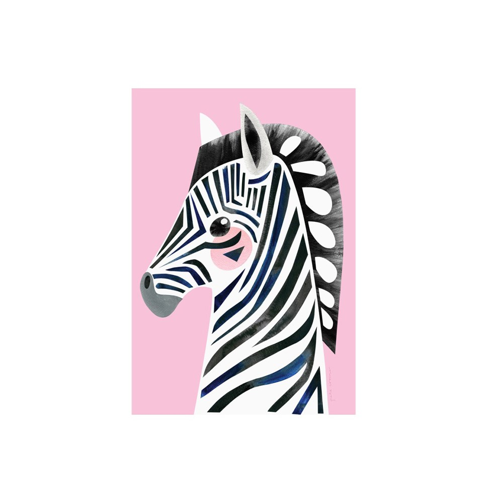 Maxwell & Williams Pete Cromer Wildlife Tea Towel 50x70cm Zebra