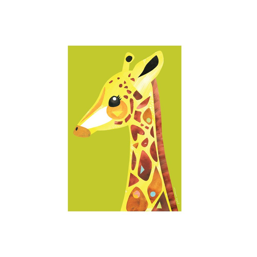 Maxwell & Williams Pete Cromer Wildlife Tea Towel 50x70cm Giraffe