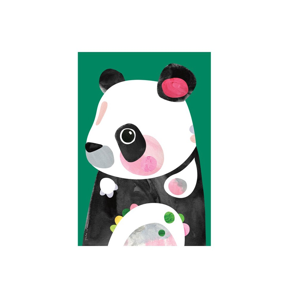 Maxwell & Williams Pete Cromer Wildlife Tea Towel 50x70cm Panda