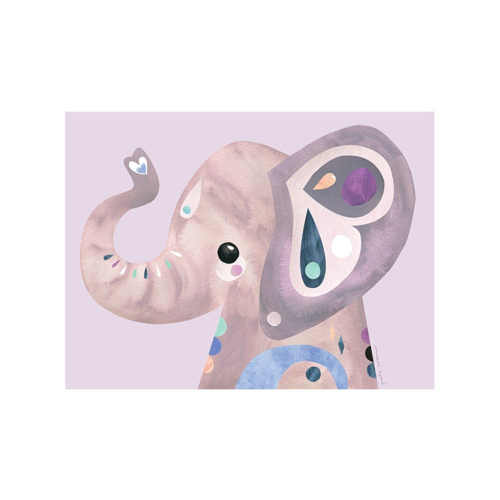 Maxwell & Williams Pete Cromer Wildlife Tea Towel 50x70cm Elephant