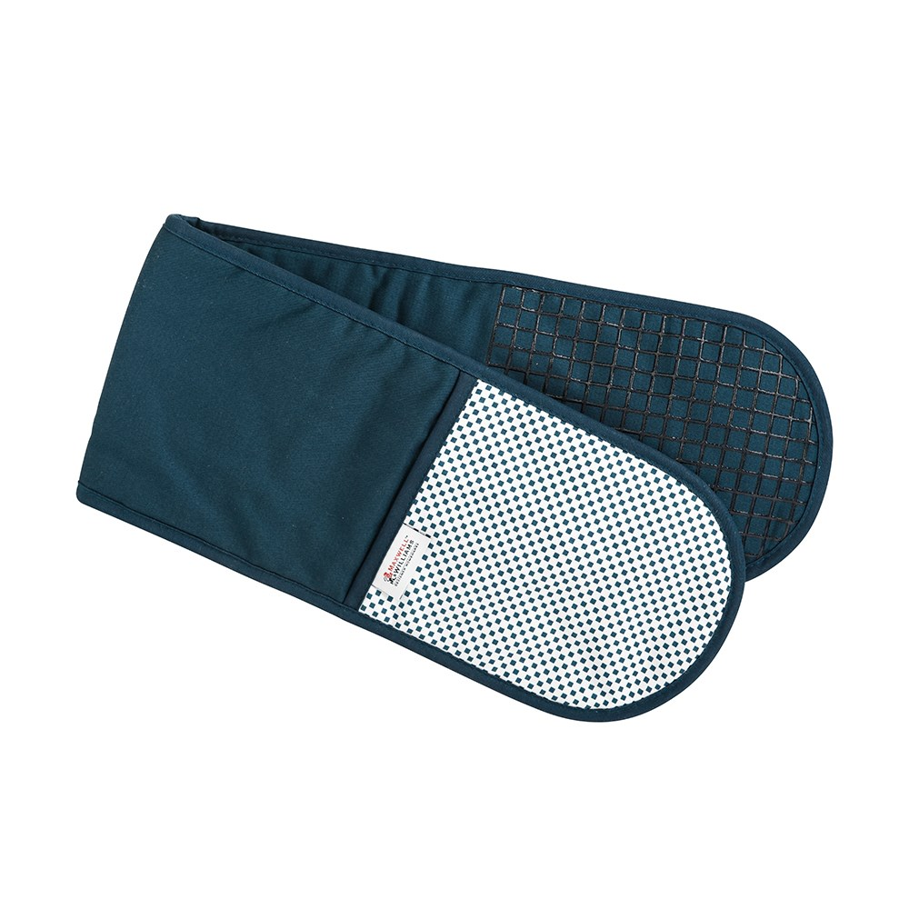 Maxwell & Williams Epicurious Double Oven Mitt Teal
