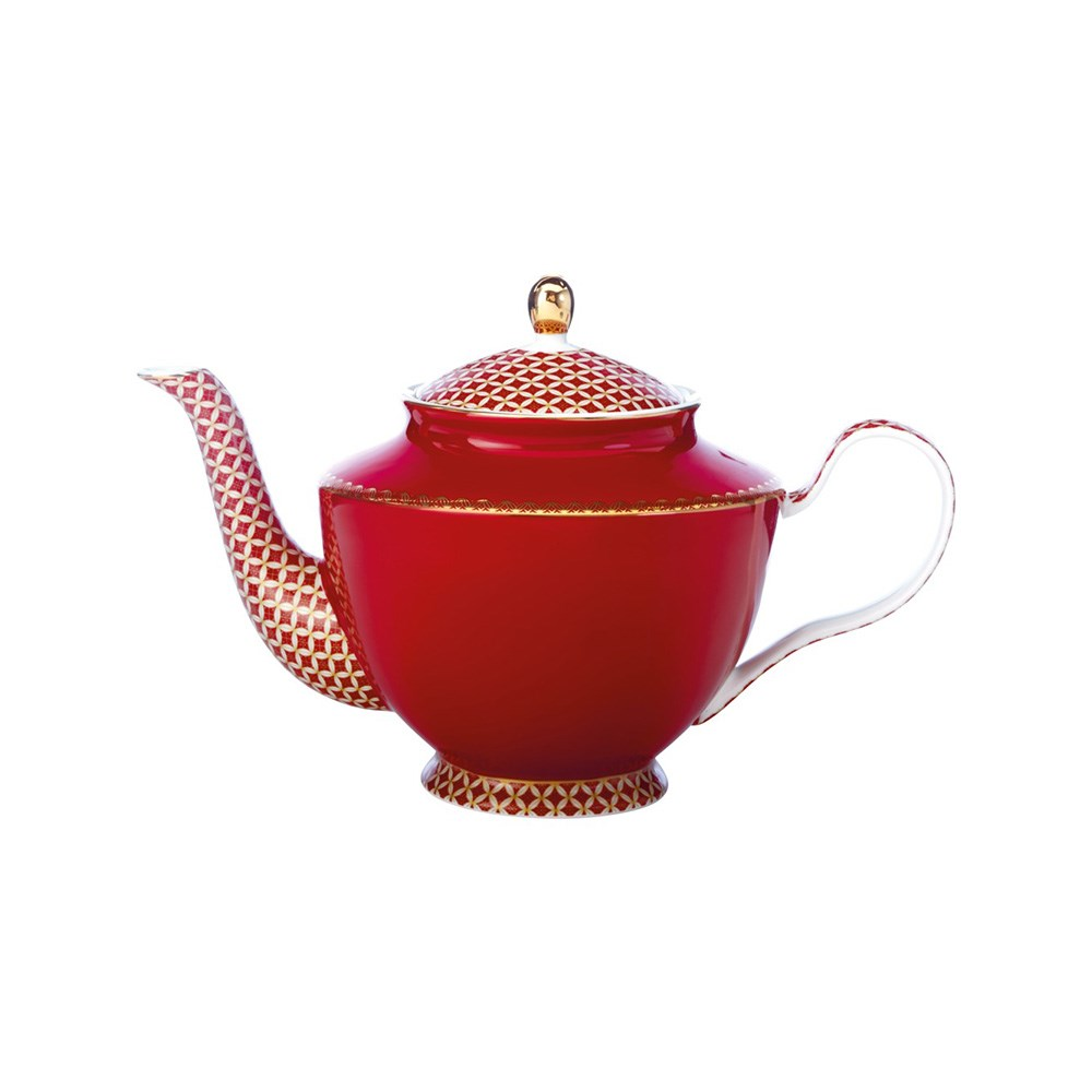 Maxwell & Williams Teas & C's Classic Teapot with Infuser 1L Cherry Red