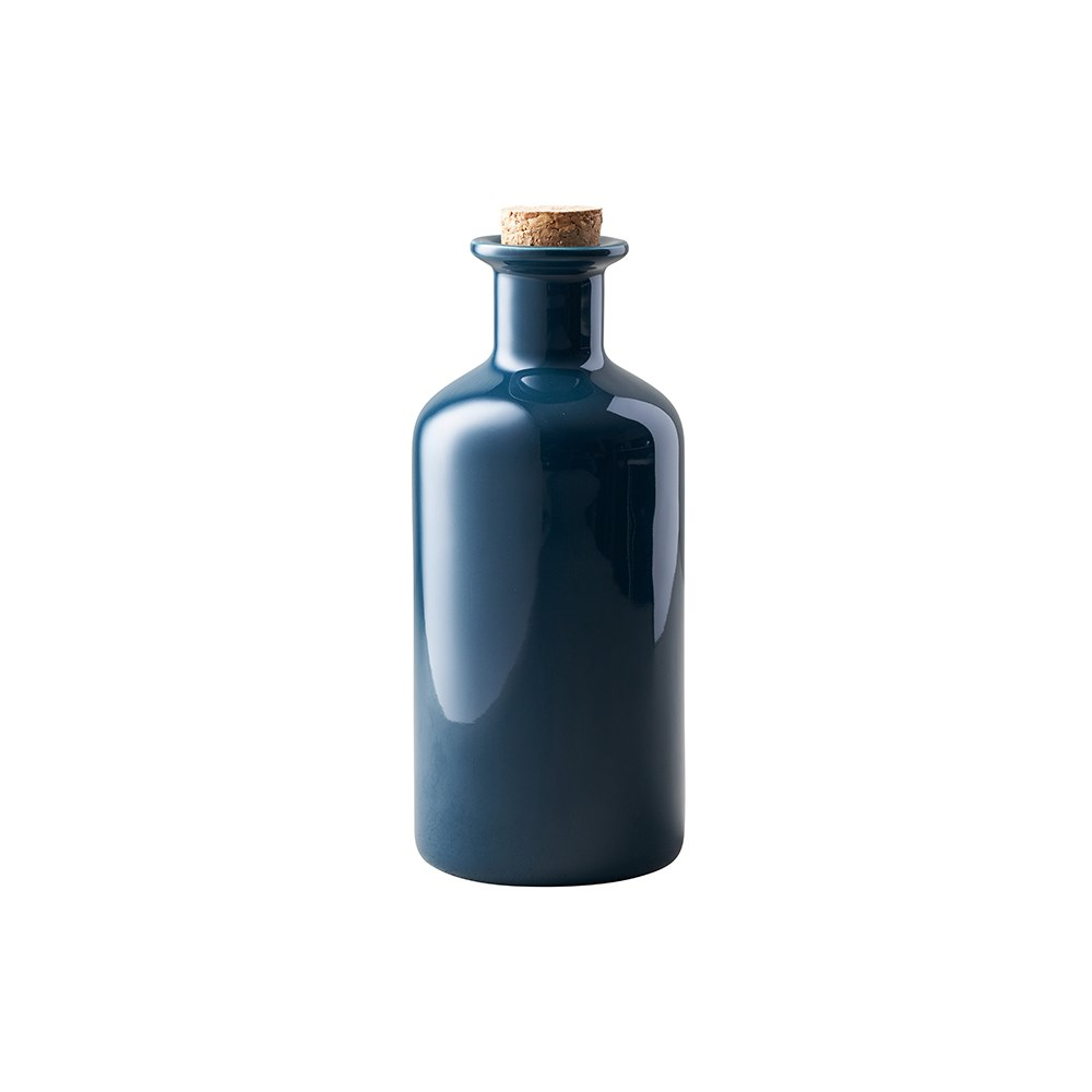 Maxwell & Williams Epicurious Oil Bottle Cork Lid Gift Boxed 500ml Teal