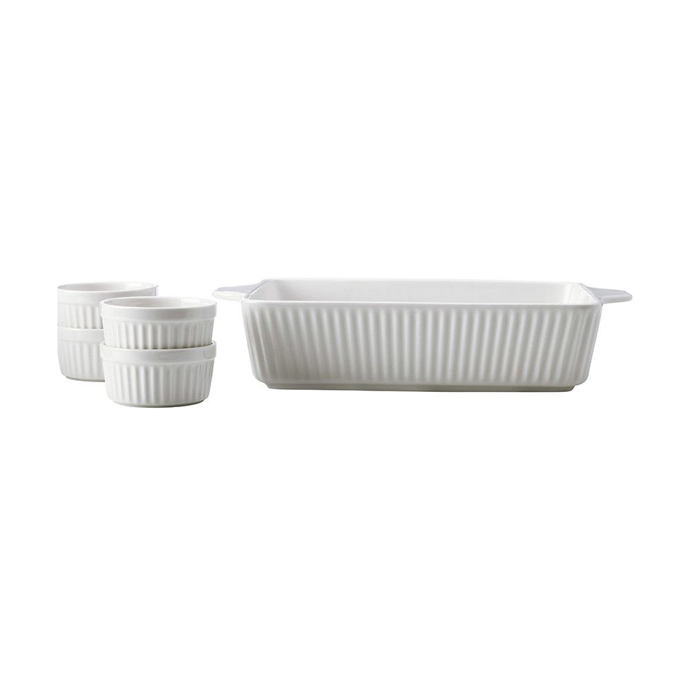 Maxwell & Williams Radiance 5 Piece Bakeware Set Gift Boxed