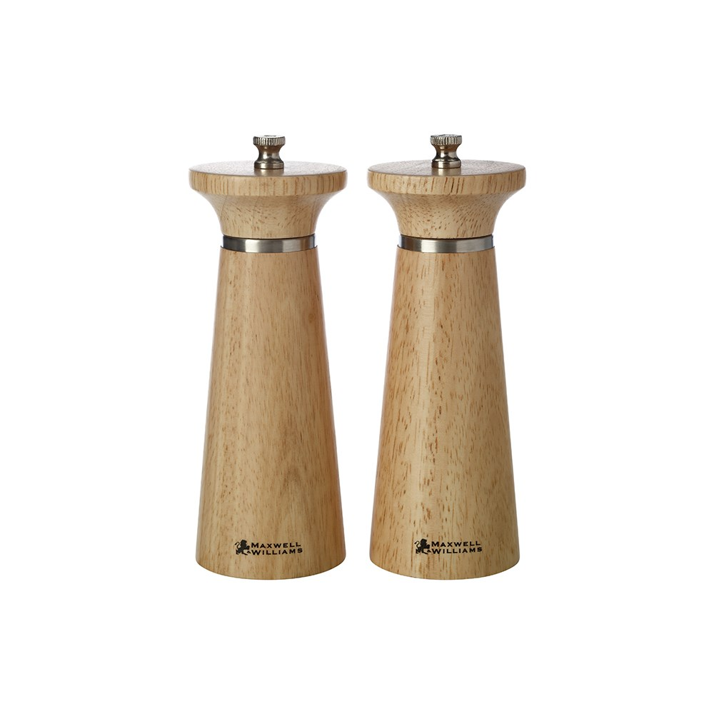 Maxwell & Williams Oslo Salt & Pepper Mill Set Gift Boxed 16cm Natural