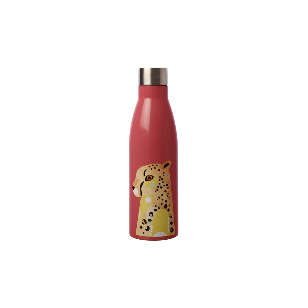 Maxwell & Williams Pete Cromer Wildlife Double Wall Insulated Bottle 500ml Cheetah