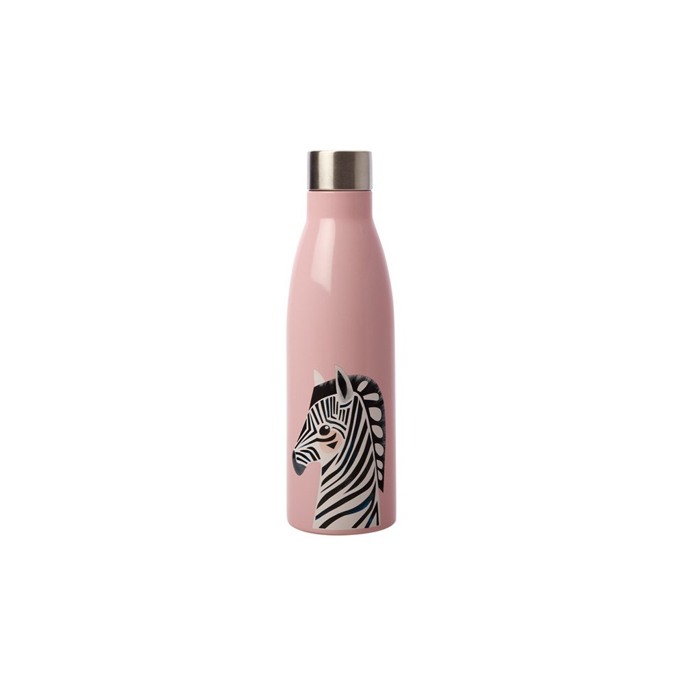 Maxwell & Williams Pete Cromer Wildlife Double Wall Insulated Bottle 500ml Zebra