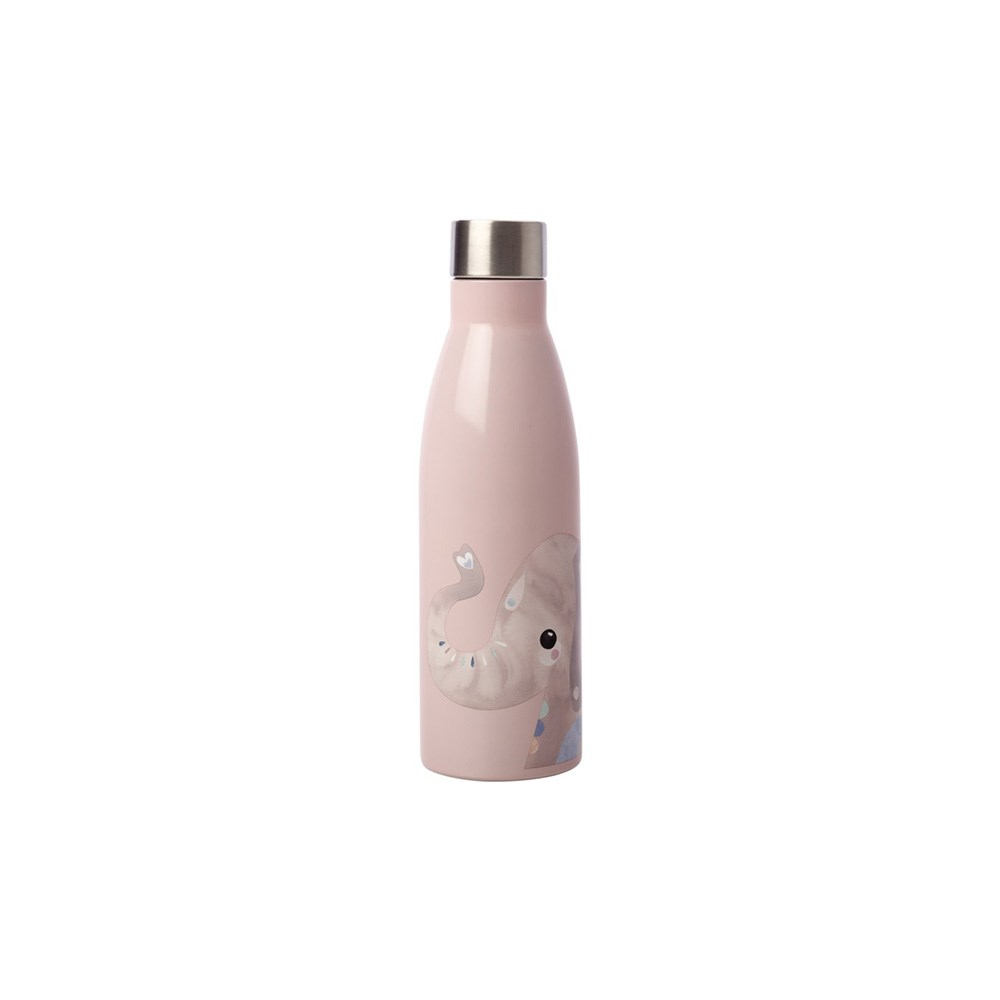 Maxwell & Williams Pete Cromer Wildlife Double Wall Insulated Bottle 500ml Elephant