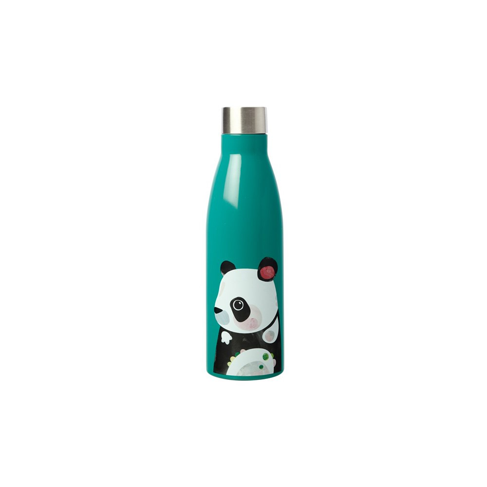 Maxwell & Williams Pete Cromer Wildlife Double Wall Insulated Bottle 500ml Panda