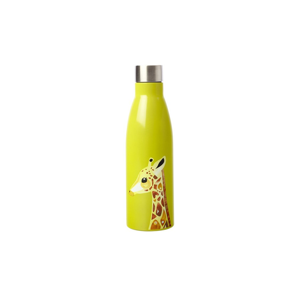Maxwell & Williams Pete Cromer Wildlife Double Wall Insulated Bottle 500ml Giraffe