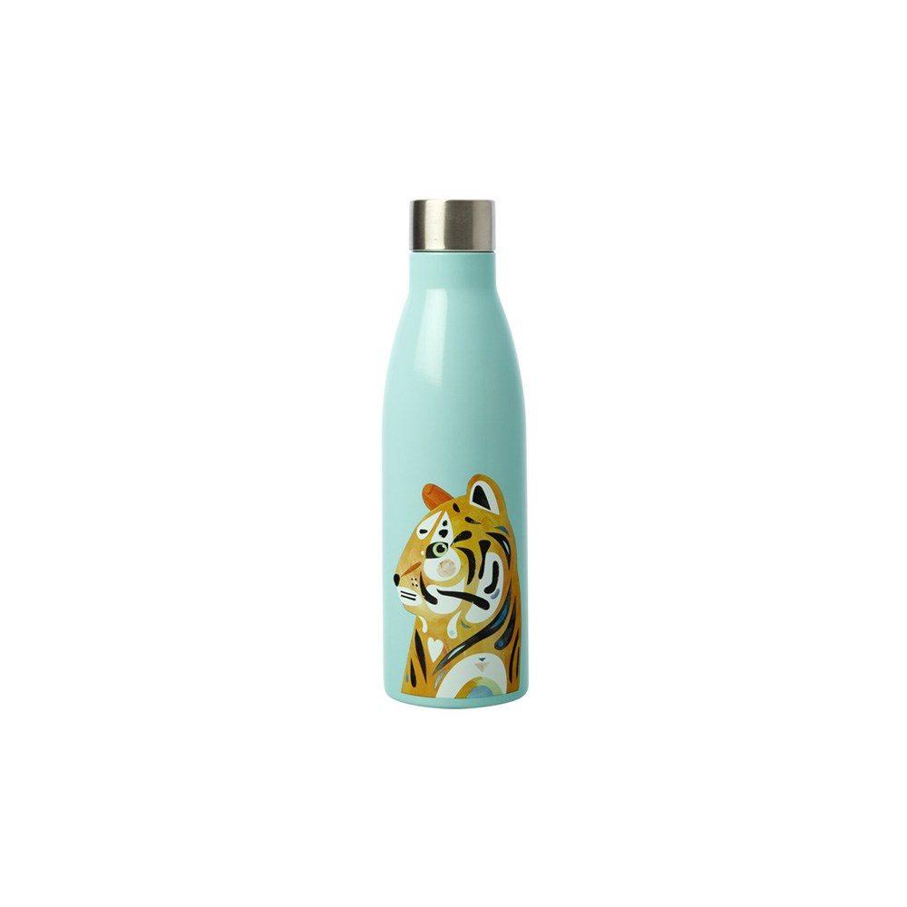 Maxwell & Williams Pete Cromer Wildlife Double Wall Insulated Bottle 500ml Tiger