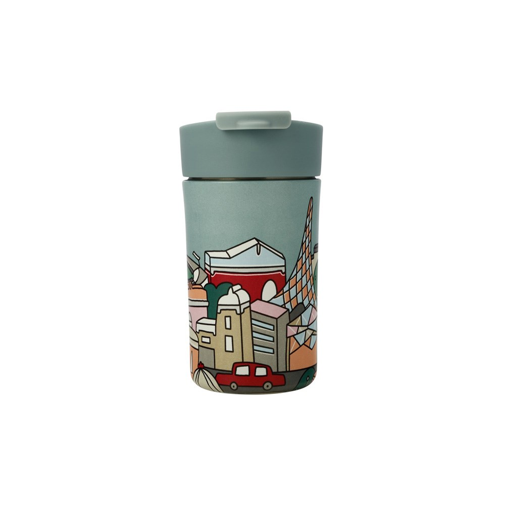 Maxwell & Williams Megan McKean Cities Double Wall Insulated Cup 350ml Melbourne