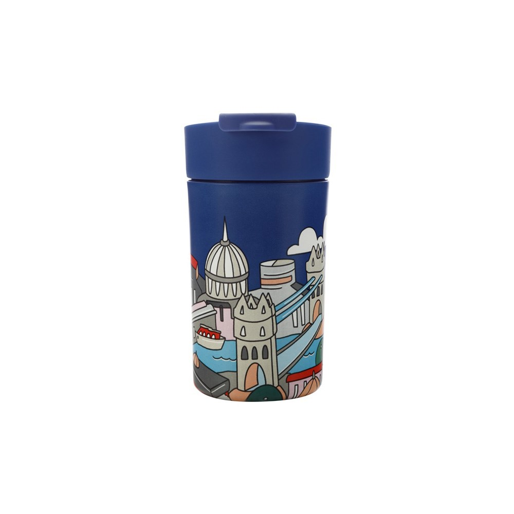 Maxwell & Williams Megan McKean Cities Double Wall Insulated Cup 350ml London