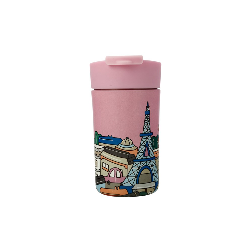 Maxwell & Williams Megan McKean Cities Double Wall Insulated Cup 350ml Paris