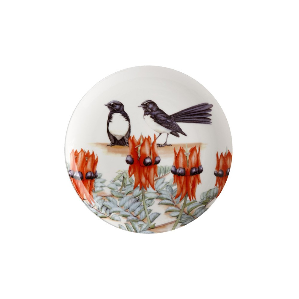 Maxwell & Williams Royal Botanic Gardens Garden Friends Plate 20cm Willy Wag Tail