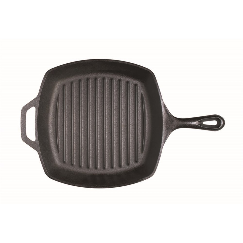 Lodge 27cm Cast Iron Grill Pan