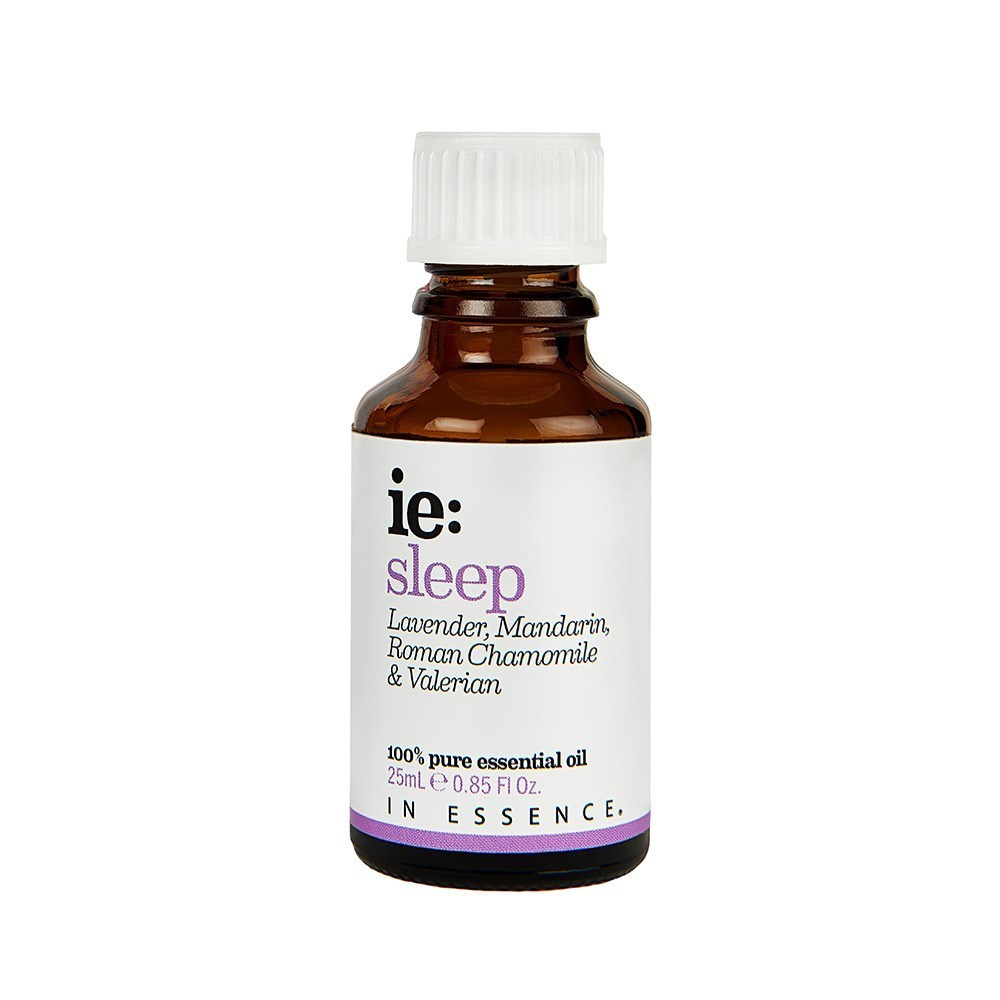 In Essence Sleep Pure Essential Oil Blend with Lavender, Mandarin, Roman Chamomile & Valerian 25ml
