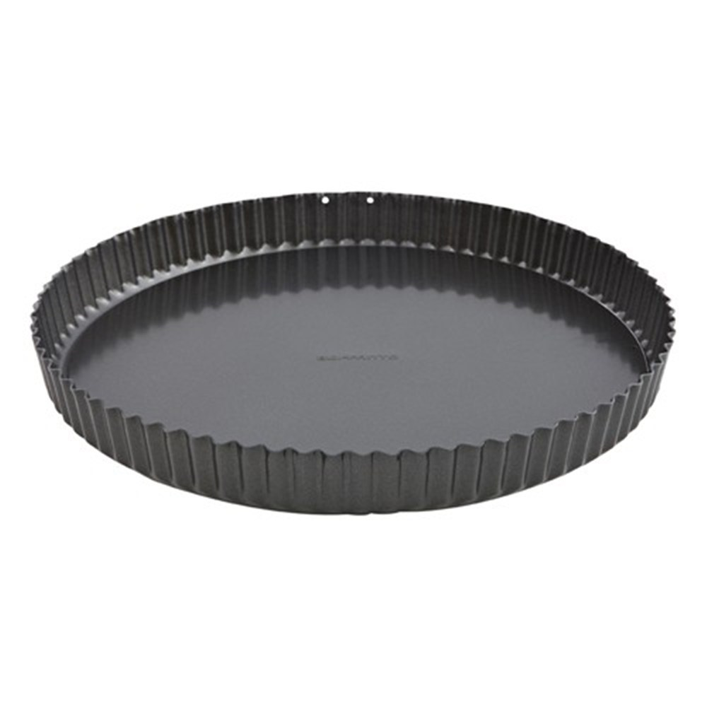Soffritto 30cm Loose Base Fluted Quiche Tin