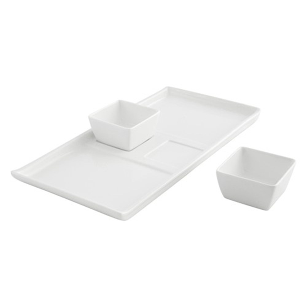 Ambrosia Zest 3 Piece Tapas Set - Large