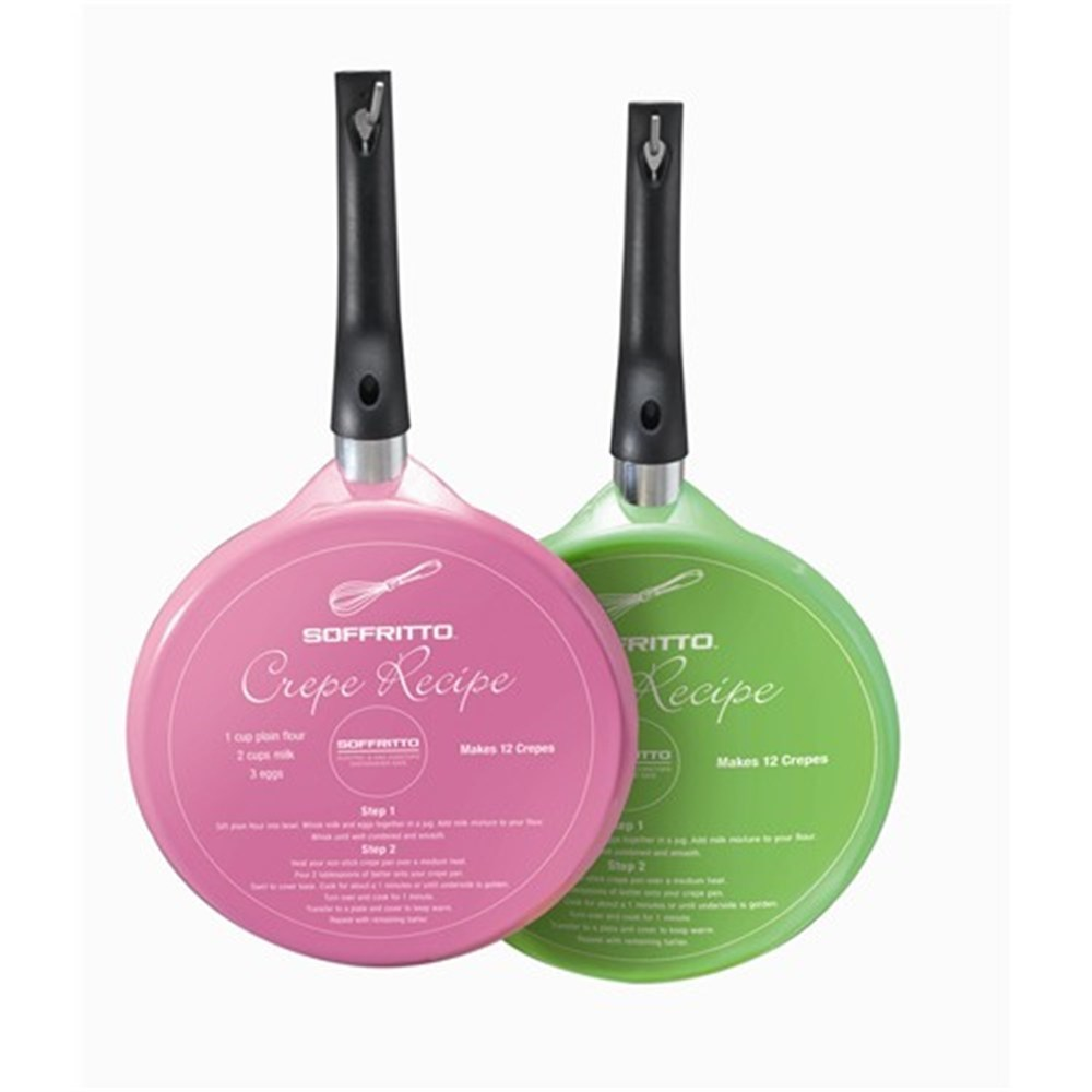 Soffritto Crepe Pan 25cm Assorted Colours