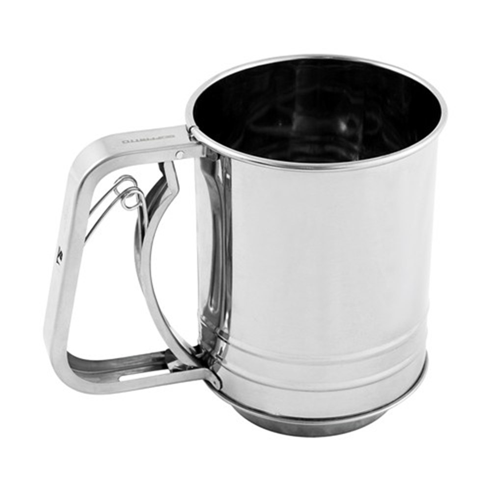 Soffritto A-Series Stainless Steel 5 Cup Flour Sifter