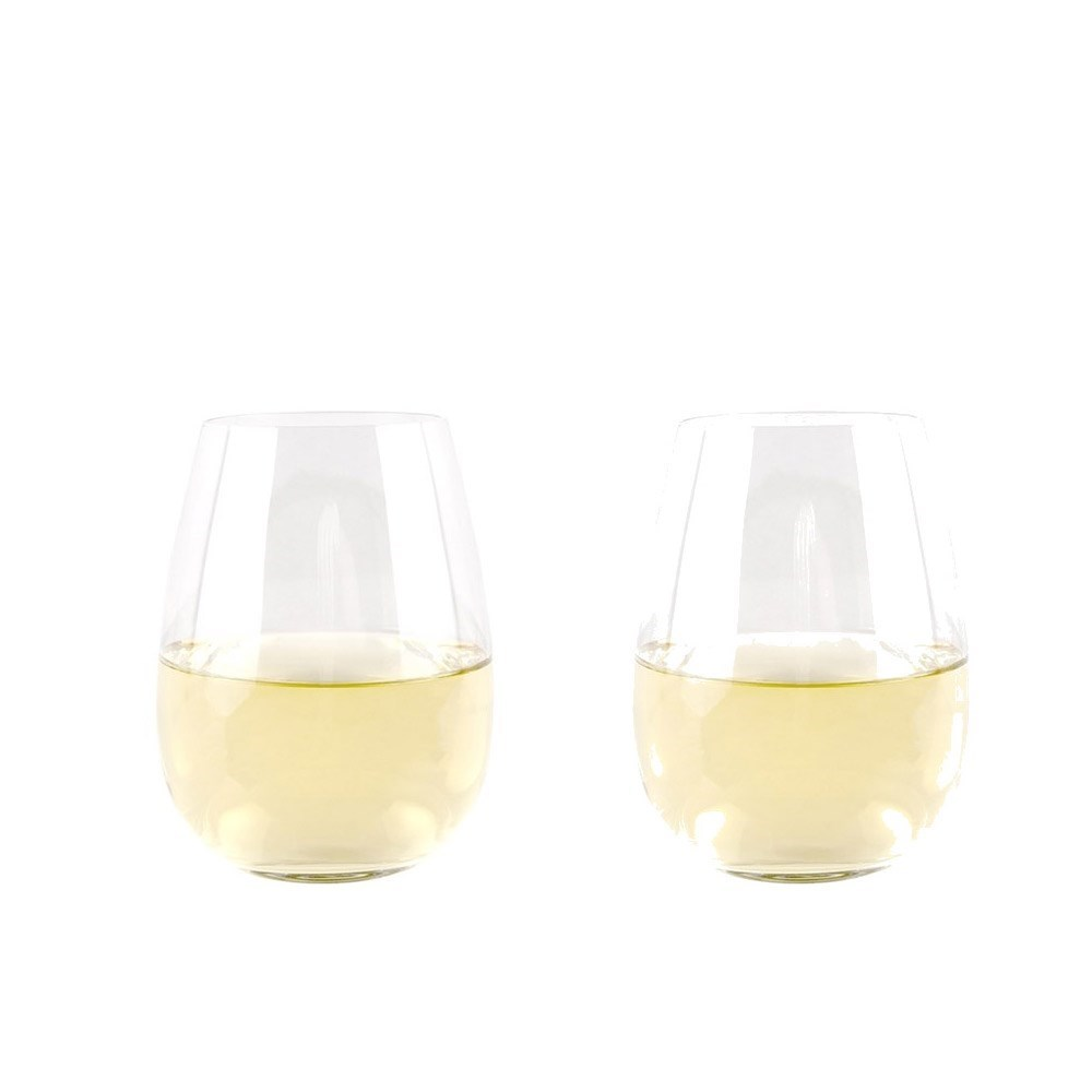 Cellar Premium Stemless Wine Glass 550ml Set of 2