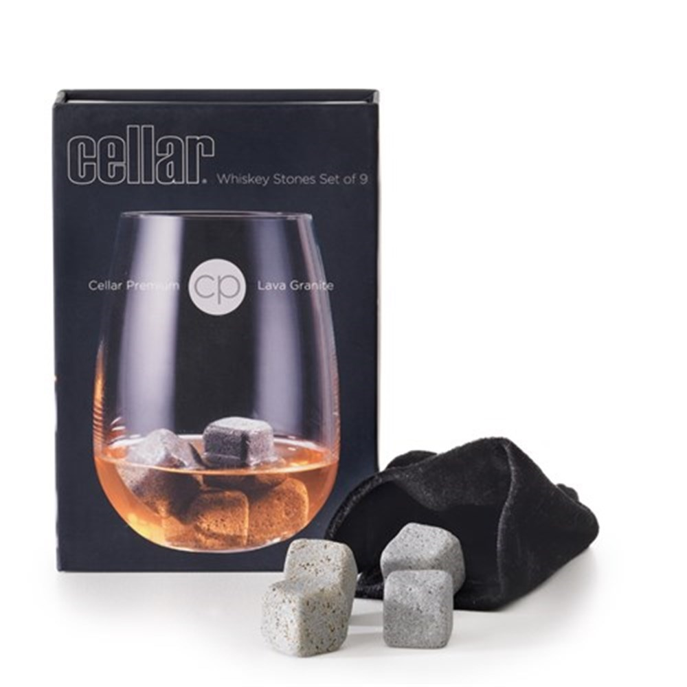 Cellar Premium Whisky Stones Set of 9