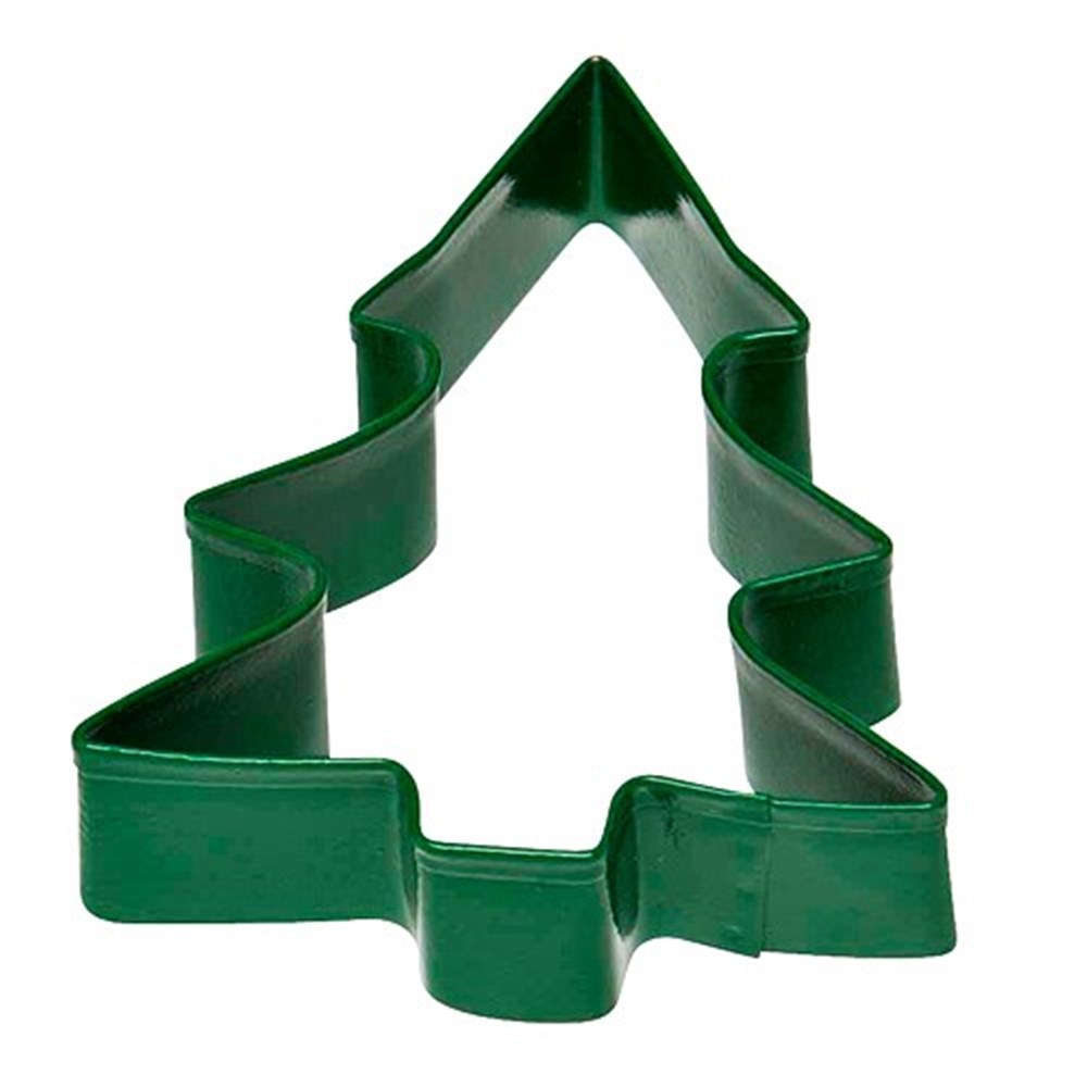 Soffritto Professional Bakeware Christmas Tree Cookie Cutter Green 8cm