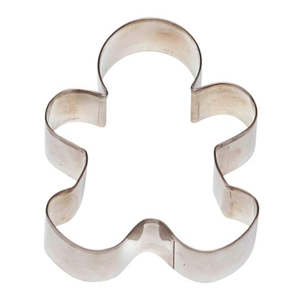 Soffritto Professional Bakeware Gingerbread Man Cookie Cutter