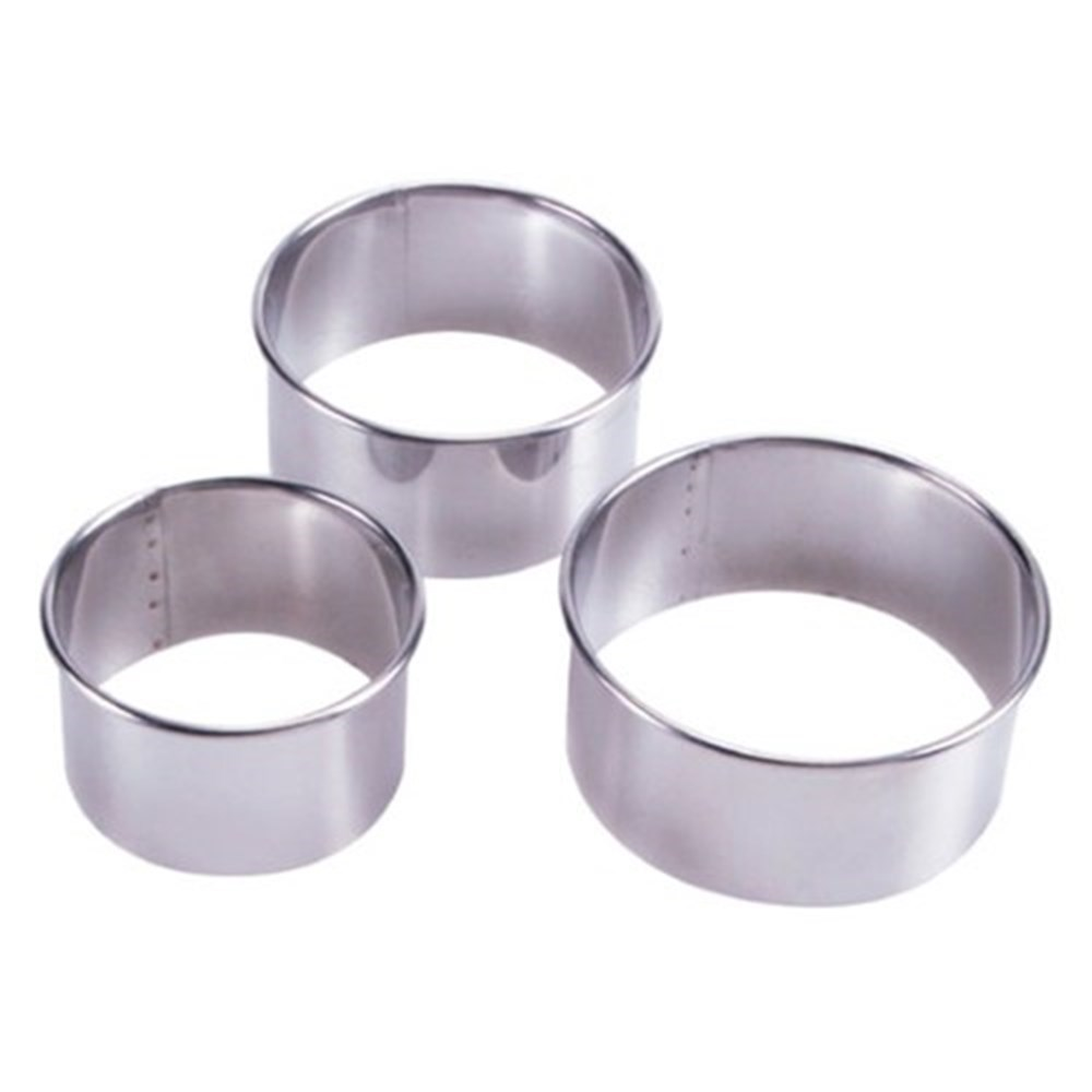 Scullery Essential Plain Scone Cutter & Food Rings Set of 3