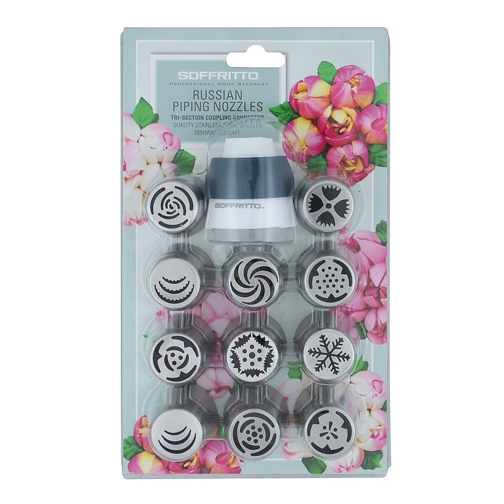 Soffritto Professional Bake Russian Nozzle Set