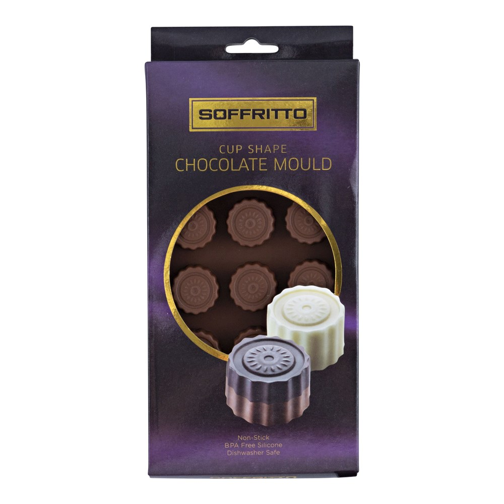 Soffritto Professional Bake Chocolate Mould Cup