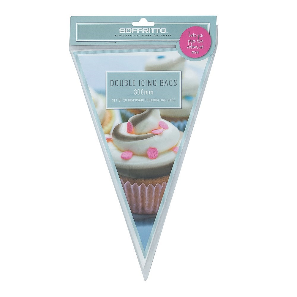 Soffritto Professional Bake Double Icing Bags 30cm 20 Piece