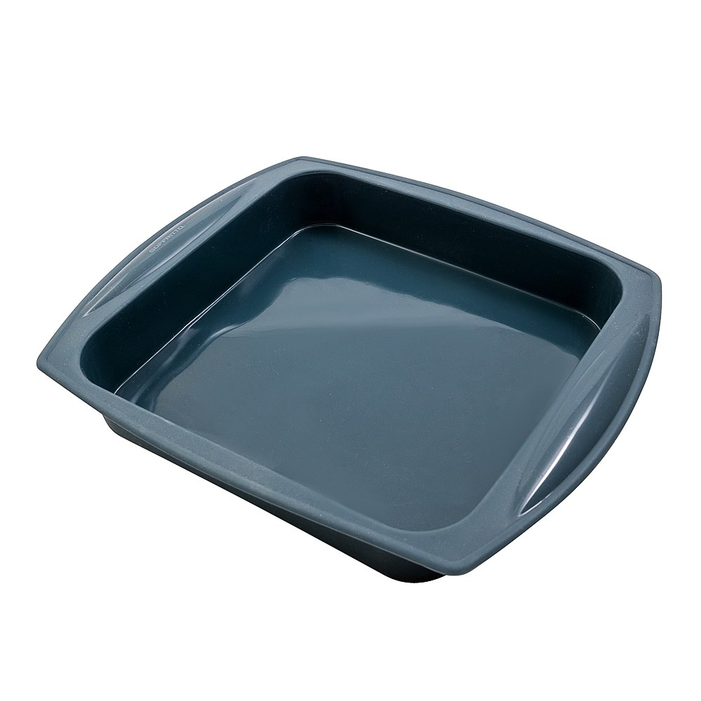 Soffritto Commercial Silicone Square Pan 23 x 4cm